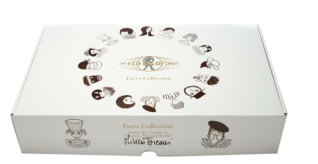 "Miscela d'Oro giftbox ""Gezichten"" Limited Edition"
